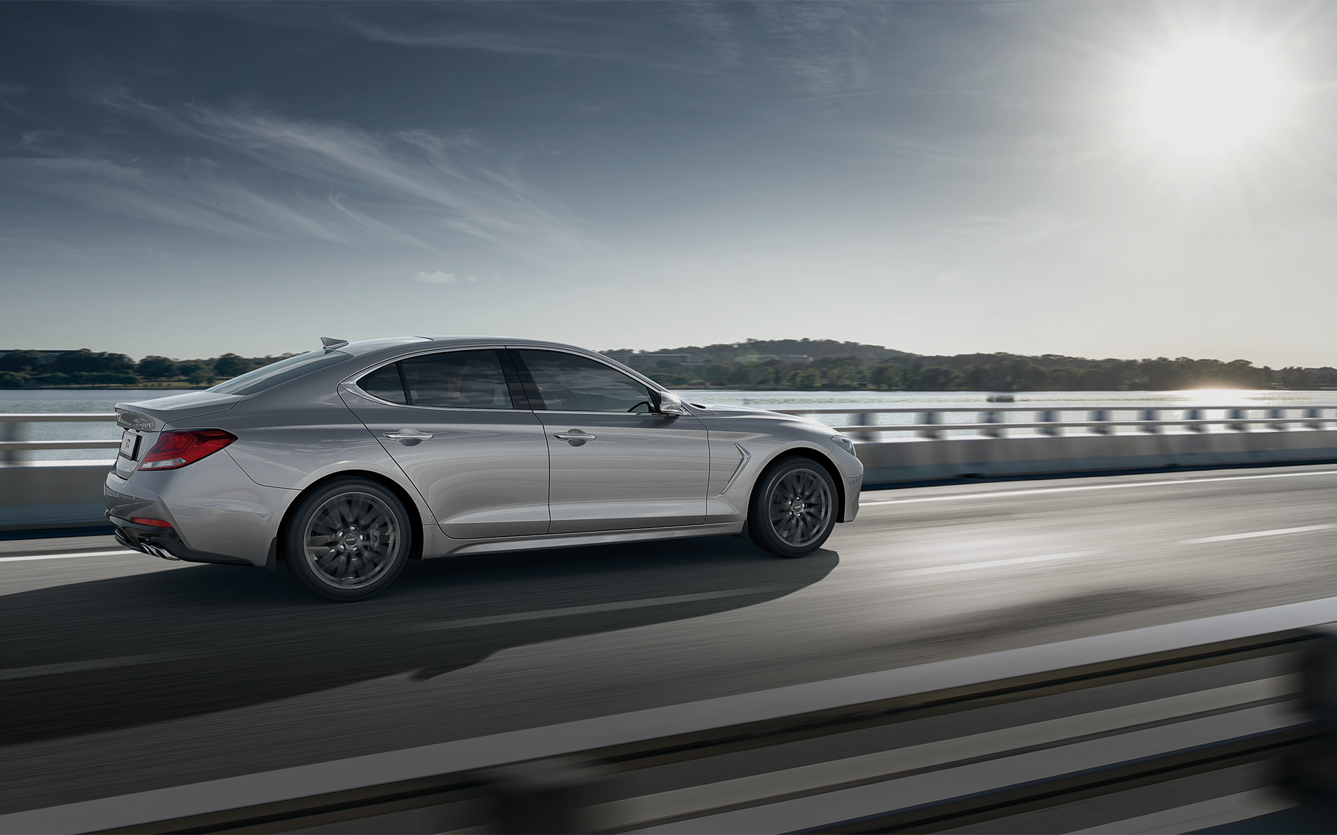 GENESIS G70 Safety Features - 고속도로 주행 보조