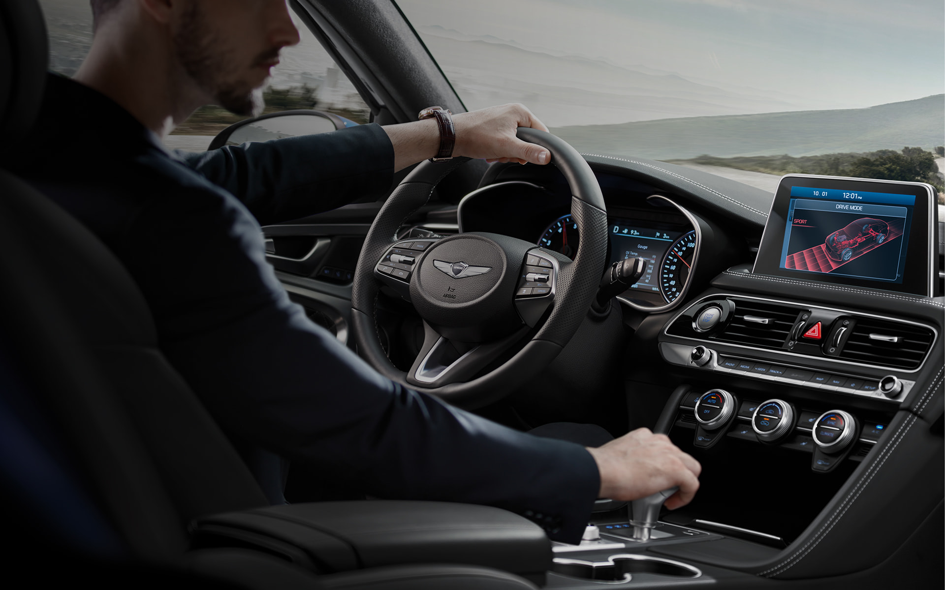 GENESIS G70 Technology Features - BALANCED PERFORMANCE